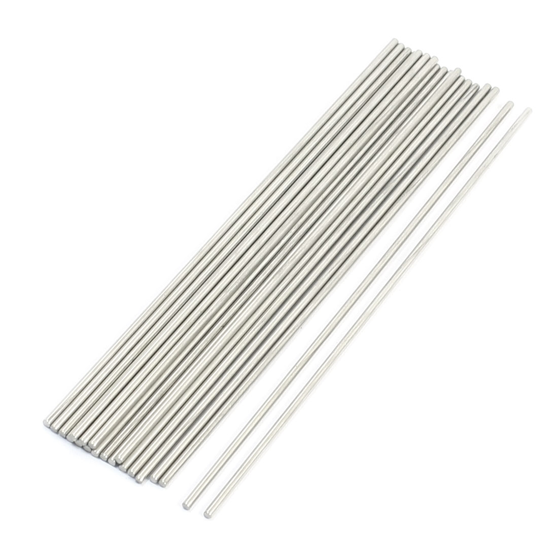 Unique Bargains 20PCS RC Helicopter Car Toy Repairing Parts Round Rod 180mm x 2.5mm