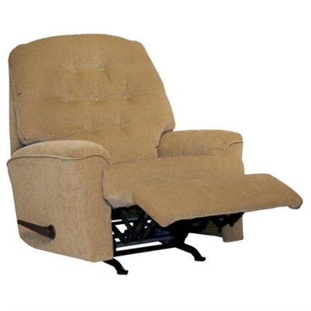 Catner Piper Small Scale Rocker Recliner Chair In Tan