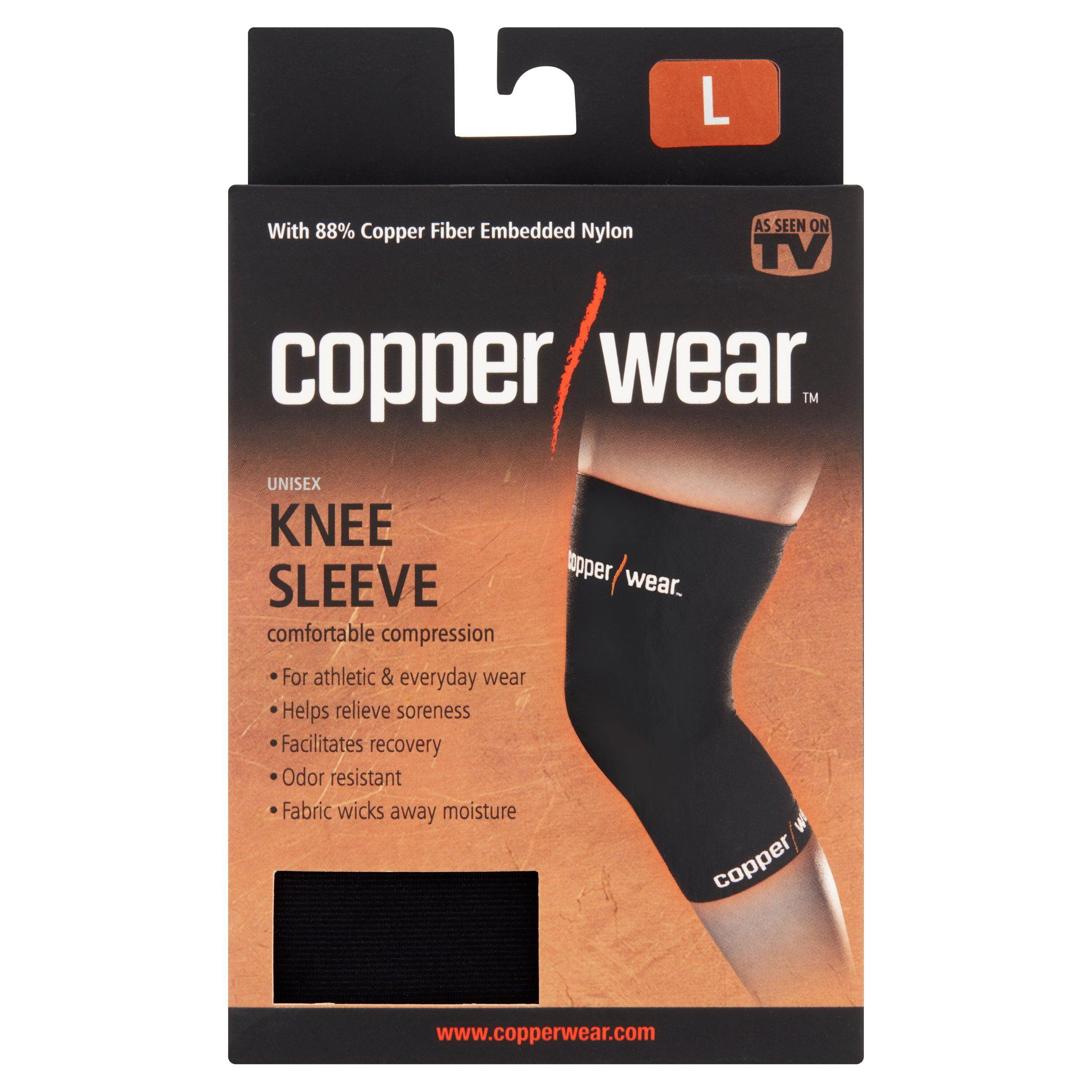 Copper wear knee sleeve