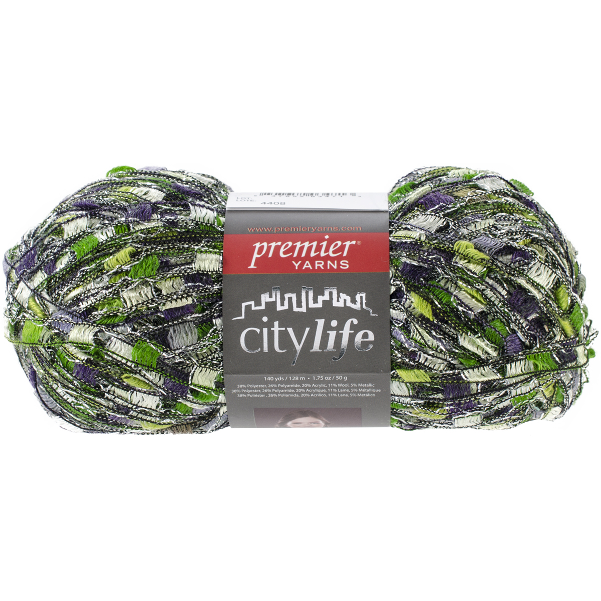 Premier Yarns City Life Ladder Yarn, Grapevine Multi-Colored