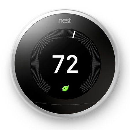 Nest Smart Thermostat 3rd Generation Universal Programmable Wifi, White -T3017US
