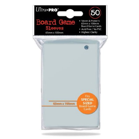 Game Pro Frame - Ultra Pro Board Game Sleeve 65mm x 100mm - 50pk