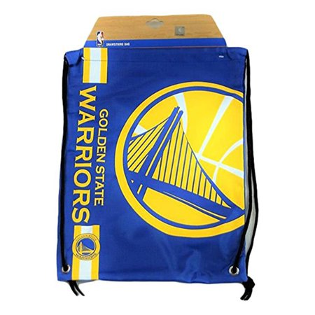 Logo Drawstring Backpack - Forever Collectibles Golden State Warriors Drawstring Backpack Gym