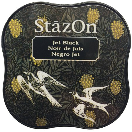 - StazOn Midi Ink Pad Jet Black