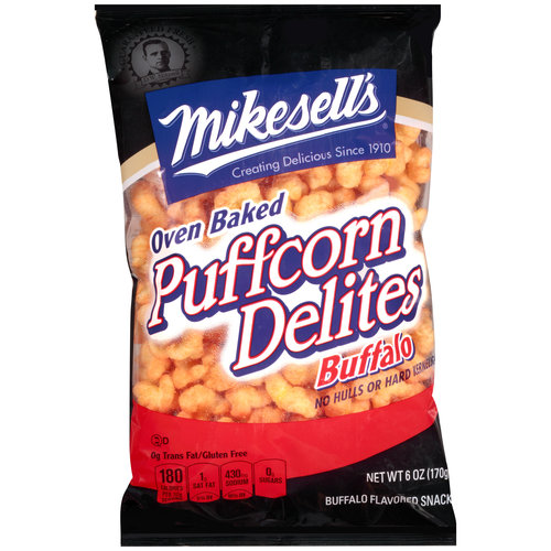 Mikesell's Buffalo Puffcorn Delites, 6 oz