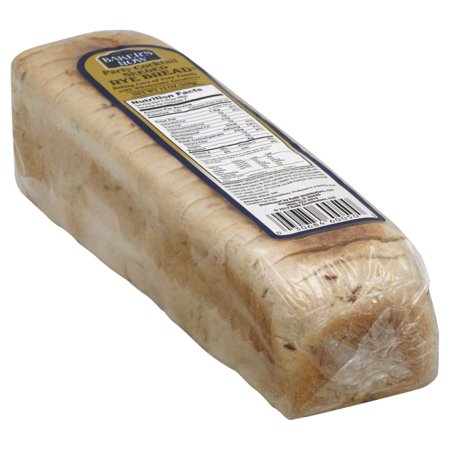 KeHE Distributors Bakers Row Rye Bread, 12 oz - Walmart com