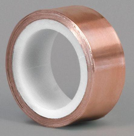 Foil Tape,1 In. x 6 Yd.,Copper TAPECASE 15D566