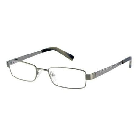 Cafe Luna 5119140 Men\'s Optical Frames, Brushed Gunmetal - Walmart.com