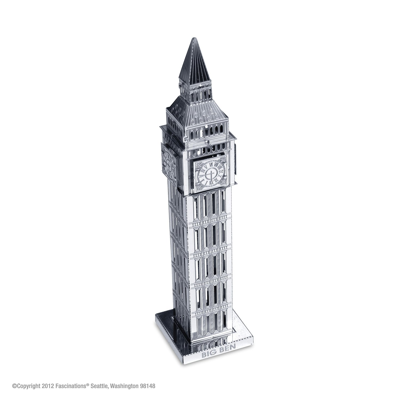 Fascinations Metal Earth Big Ben Clock Tower 3D Metal Model Kit by Fascinations