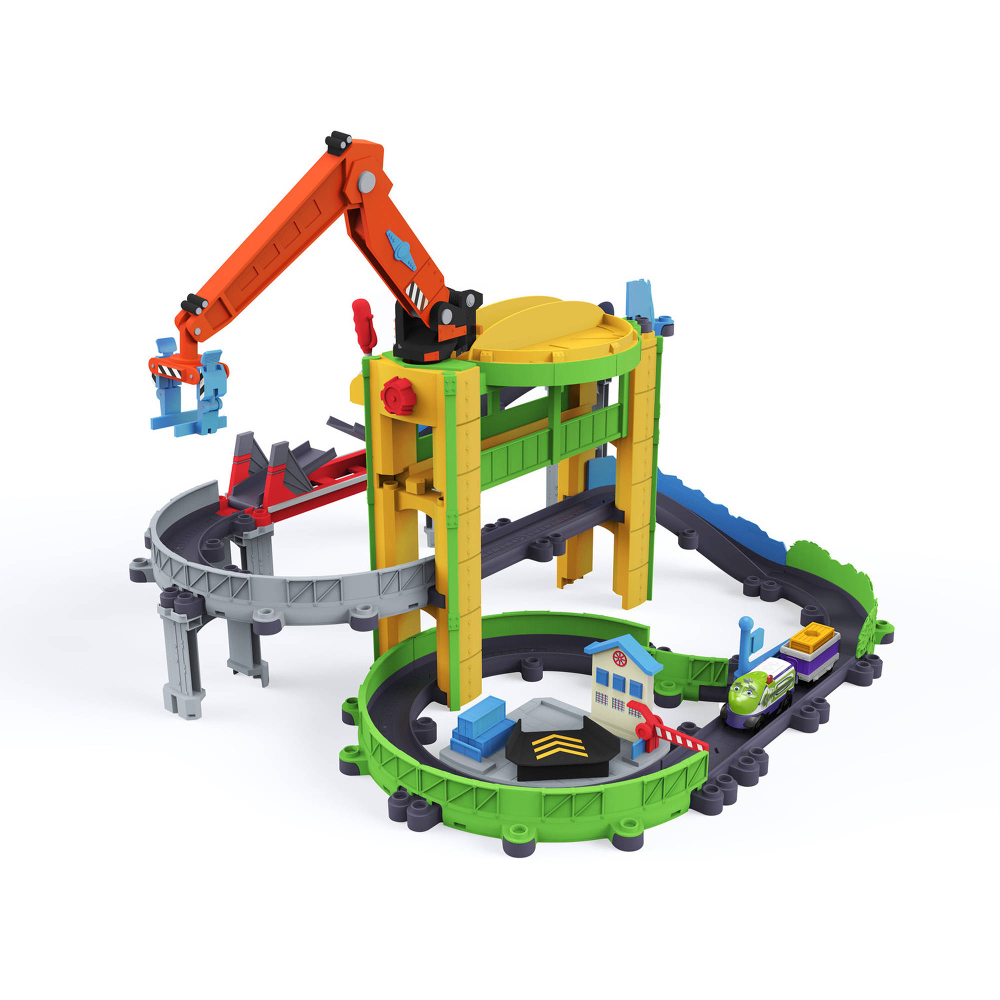 TOMY Chuggington StackTrack Motorized Drop and Load Dash