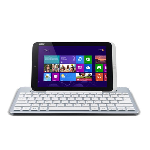 "Acer Iconia 8.1"" Tablet 32GB Intel Atom Dual-Core Z2760 Processor Windows 8"