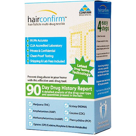 Hairconfirm regular hair follicle 90 day drug history test kit hairconfirm regular hair follicle 90 day drug history test kit solutioingenieria Image collections