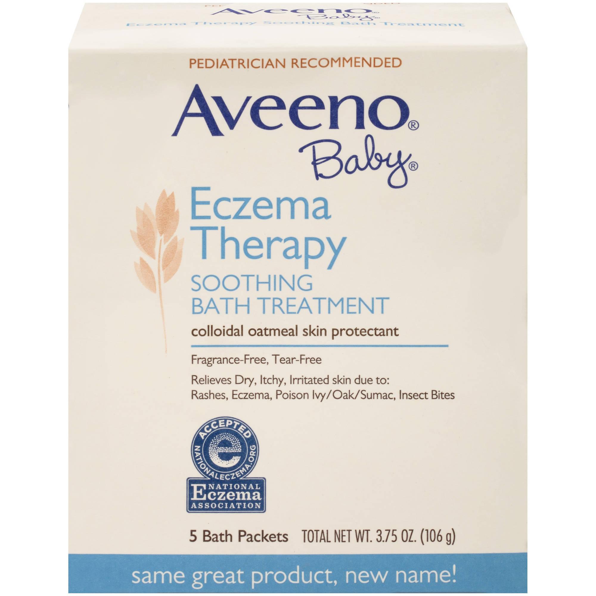 Oatmeal bath for eczema in babies