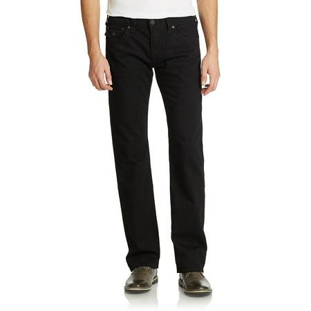 True Religion Edp (True Religion NEW Black Mens Size 33 Relaxed Straight Fit Denim Jeans)