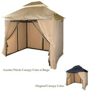 Garden Winds Replacement Canopy Top for DC America 10x12 Gazebo - Riplock 350
