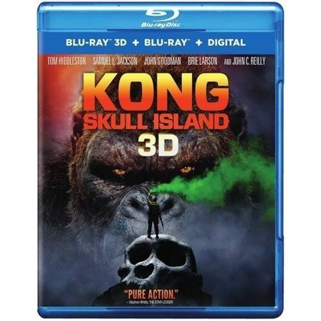 Kong  Skull Island  3D Blu Ray   Blu Ray   Digital Hd