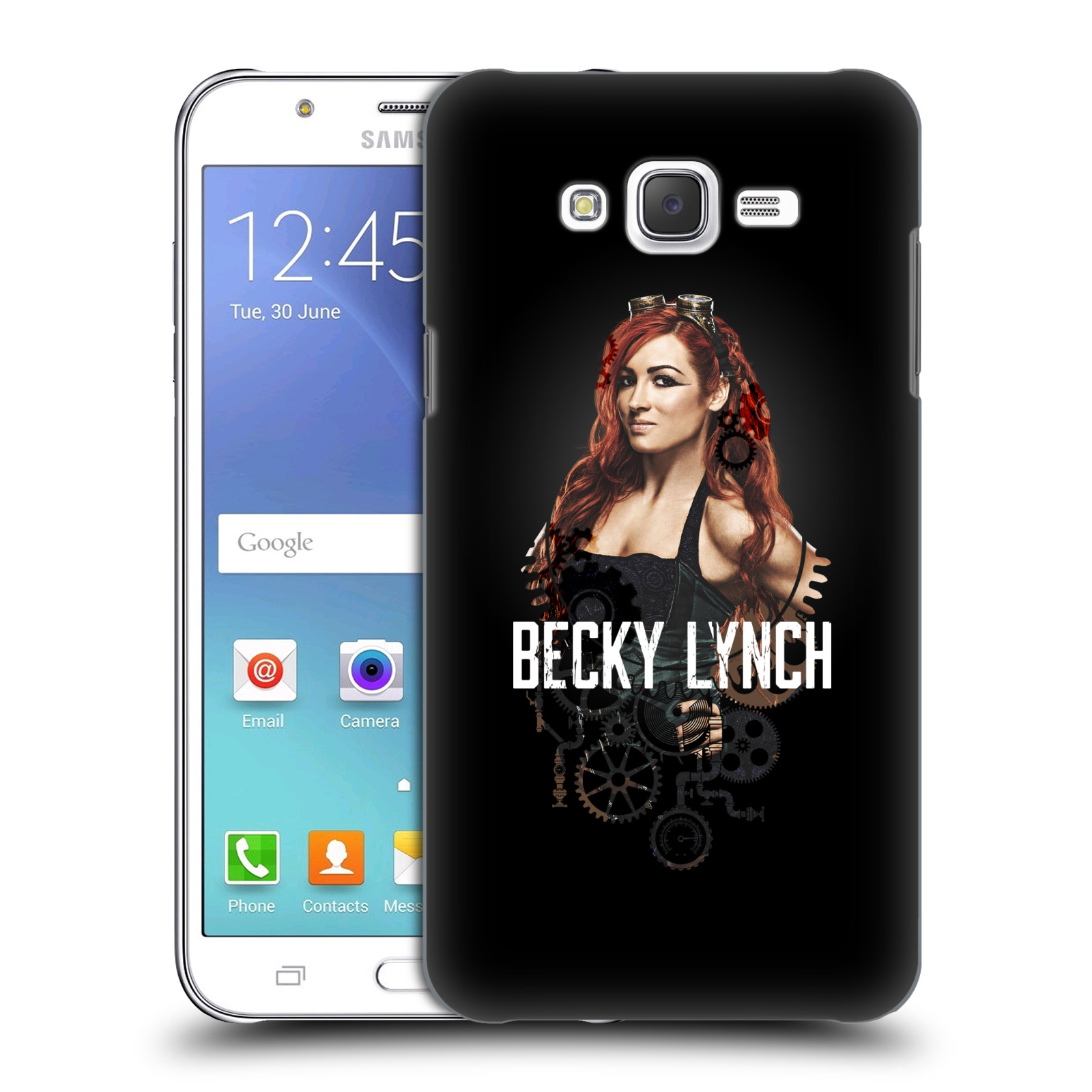 OFFICIAL WWE BECKY LYNCH HARD BACK CASE FOR SAMSUNG PHONES 3