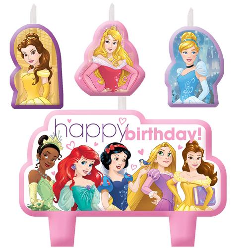Disney Princess 'Dream Big' Mini Candle Set (4pc)