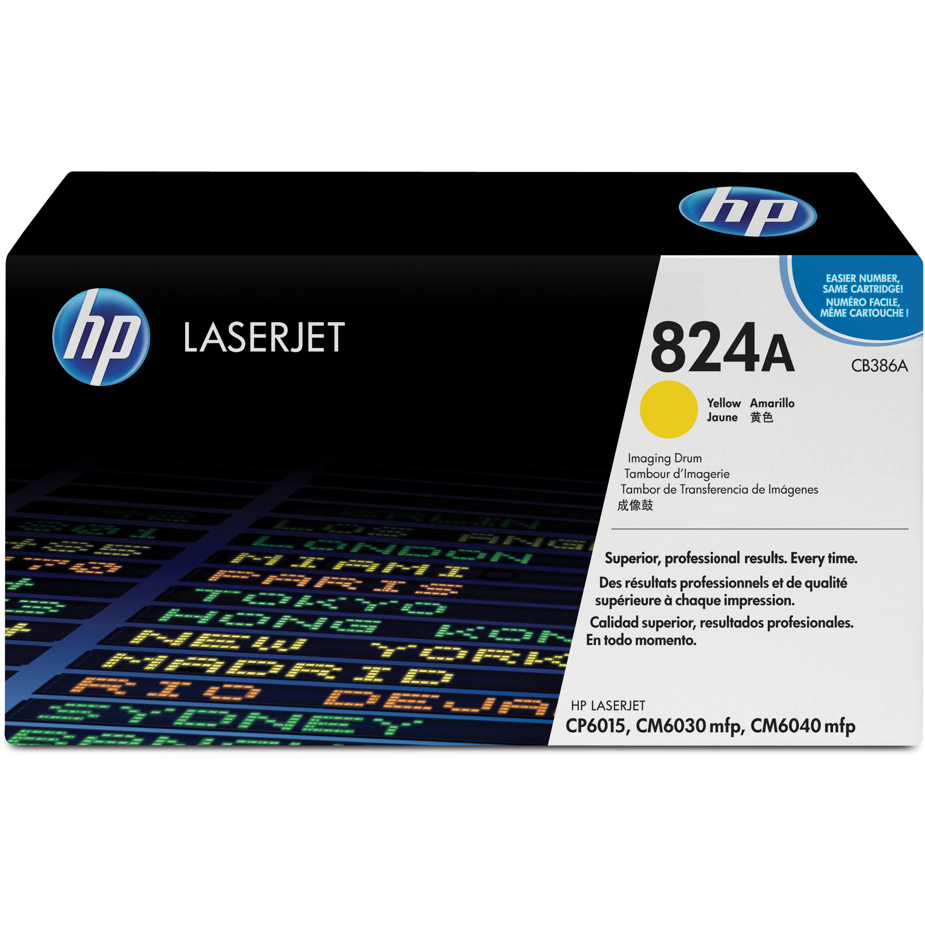 HP 824A (CB387A) Magenta Original LaserJet IMage Drum Single Pack, 1 Each (Quantity) by HP