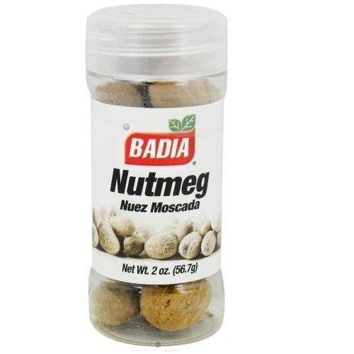 Badia Spices Nutmeg Whole Case of 12 2 oz. by