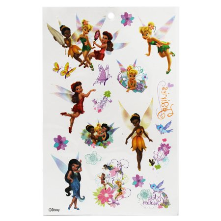 Disney Fairies Tinker Bell and Friends Assorted Design Temporary - Fairie Tattoo