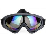 SAYFUT Outdoor Sports Ski Glasses Ski Snowmobile Snowboard Goggles OTG Anti-fog UV Protect Anti-slip Adjustable Straps for Women Men