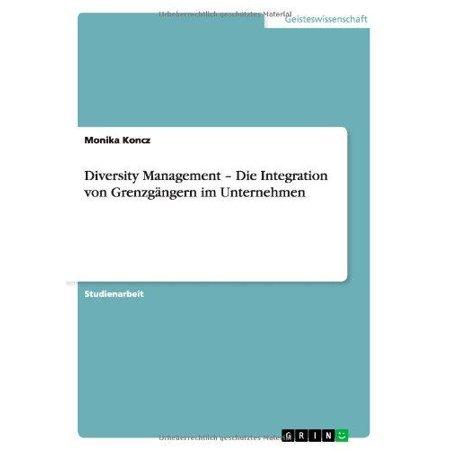 Diversity Management - Die Integration Von Grenzgangern Im Unternehmen - image 1 of 1
