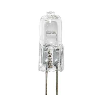 BulbAmerica 10W 12V G4 Bi-Pin Base Clear Halogen Bulb