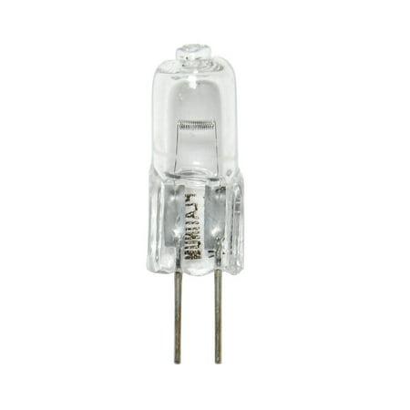 BulbAmerica 20W 12V G4 Bi-Pin Base Clear Halogen Bulb