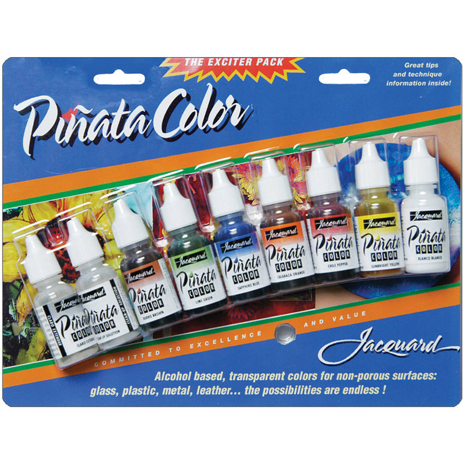Jacquard Pinata Color Exciter Pack, 9 Colors