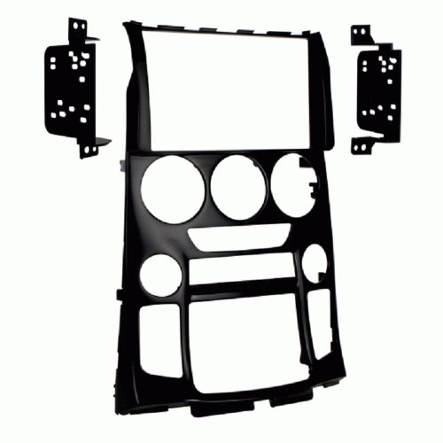 Metra 95-7352B Double DIN Dash Installation Kit for 2013-Up Hyundai Genesis Coupe Vehicles (Matte Black)
