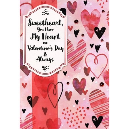 Designer Greetings You Have My Heart Hand Crafted Over Sized: Sweetheart Premium Keepsake Valentine's Day Card](Big Valentines Day Cards)