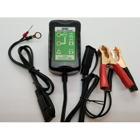 DAGA 1.5 Amp Battery Charger Tender For Motorcycle, Snowmobile, Dirt Bike,