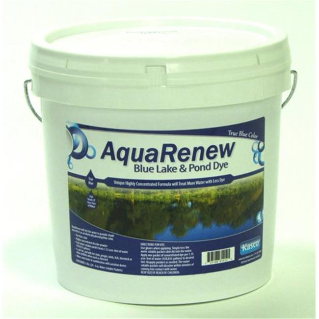 Kasco Marine ARB20-4 AquaRenew Blue Pond Lake Dye 4 oz.