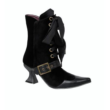 Black Witch Boots (Black Velvet 3