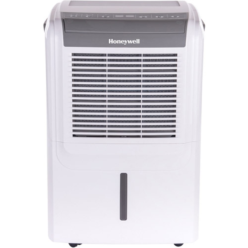 Honeywell ENERGY STAR 50-Pint 2 Speeds Dehumidifier with Humidistat Control System, White