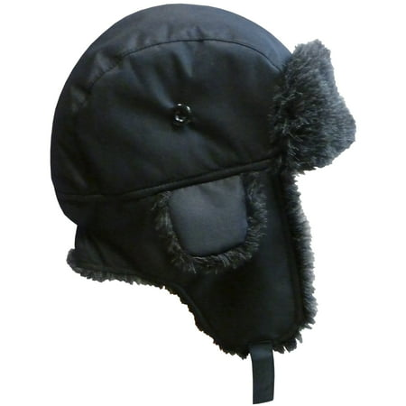 18c721af719ef9 NICE CAPS Big And Little Boys Taslon Trapper Winter Snow Ski Headwear Hat  with Big Ear