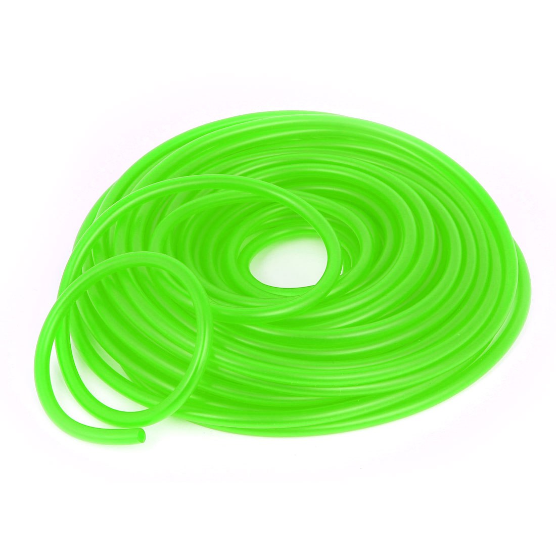 8mm OD 4.5mm Inner Dia Green Silicone Fuel Line Tube Pipe 18 Meters