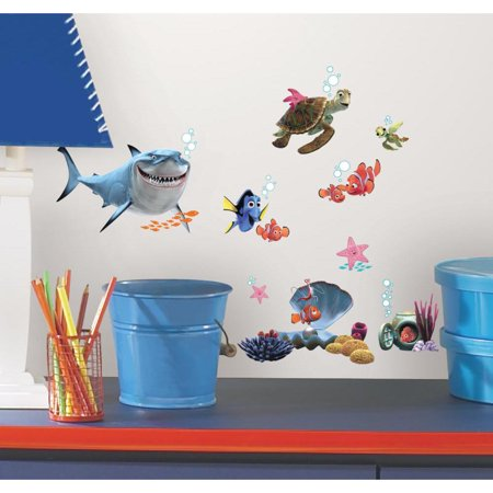 Disney FINDING NEMO WALL DECALS 44 Kids Bathroom Stickers Fish Room Decor](Finding Nemo Baby Shower)