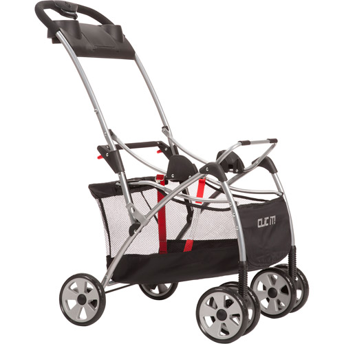 Safety 1st Clic It! Infant Seat Carrier, Black/Silver