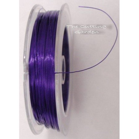 - Purple Wire - Skinny - Sugar Plum, One per Pack By Fitz Design From USA