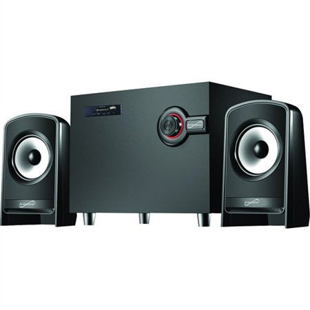 Supersonic Bluetooth Multimedia Speaker System, 10W + 5W x 2