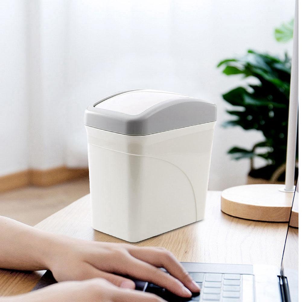 La mini poubelle d/'acier inoxydable peut ordonner le bureau à la maison de