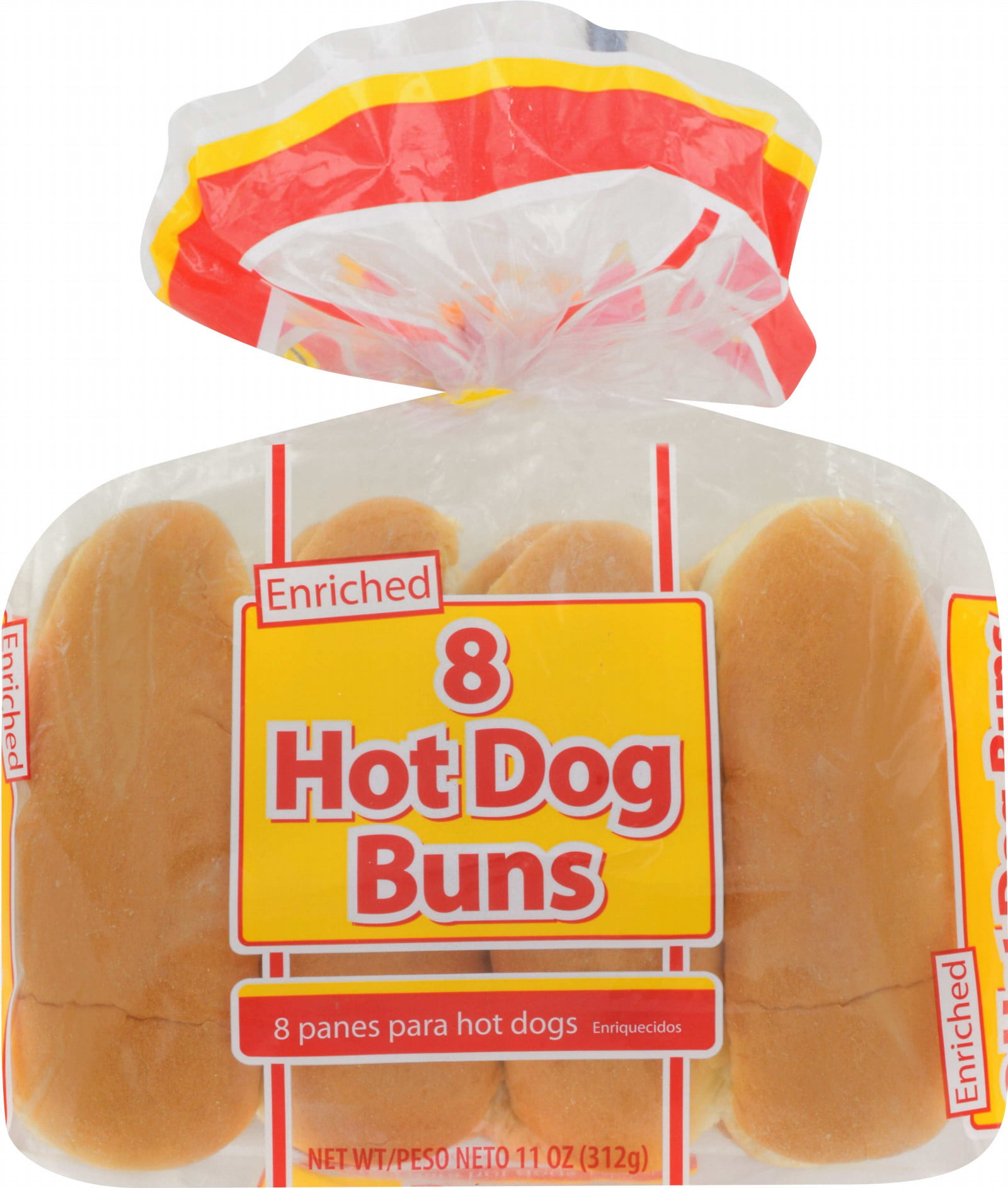 Great Value Hot Dog Buns 11 Oz 8 Count Walmart Com Walmart Com
