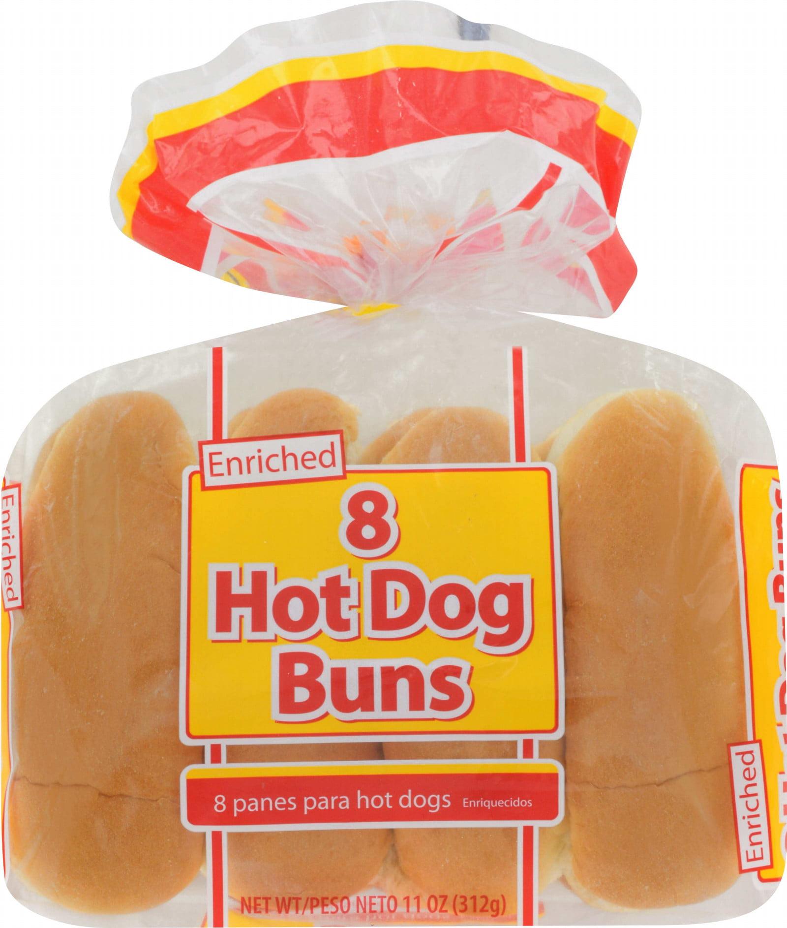 Great Value Hot Dog Buns 11 Oz 8 Count Walmart Com Walmart Com