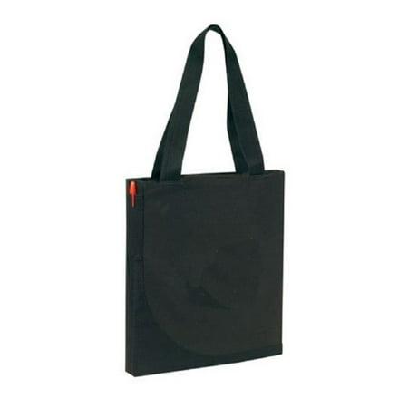 Yens? Convention Tote Bag, TB-6660 (Black) - Black Tote Bags