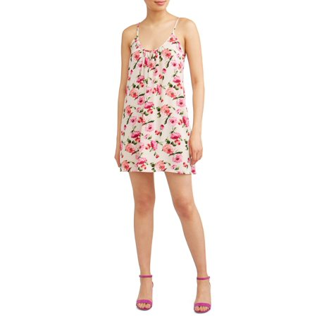 Poof Apparel Juniors' Strappy Floral Dress - Junior Spring Dresses