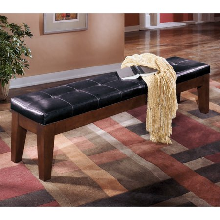 Brilliant Larchmont Extra Large Uph Drm Bench Burnished Dark Brown Unemploymentrelief Wooden Chair Designs For Living Room Unemploymentrelieforg