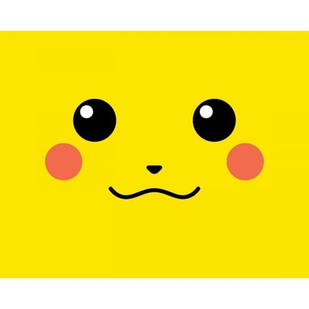 Pokemon Go Pikachu Face Edible Cake Topper Image ABPID00036V1 - Go Diego Go Cake