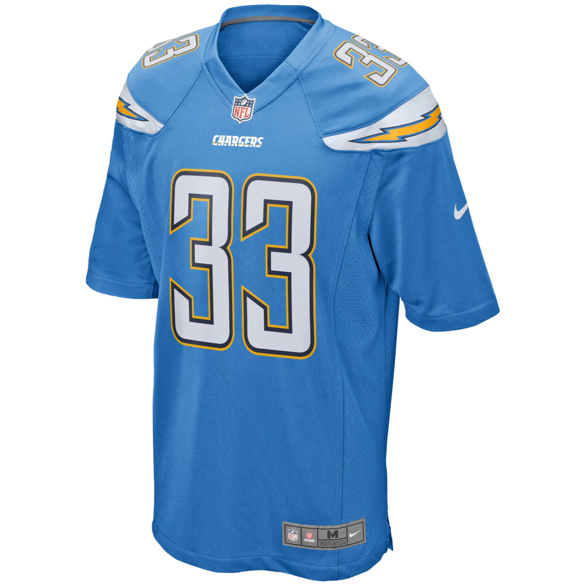 newest 5d983 57ddf Derwin James Los Angeles Chargers Nike Game Jersey - Powder Blue